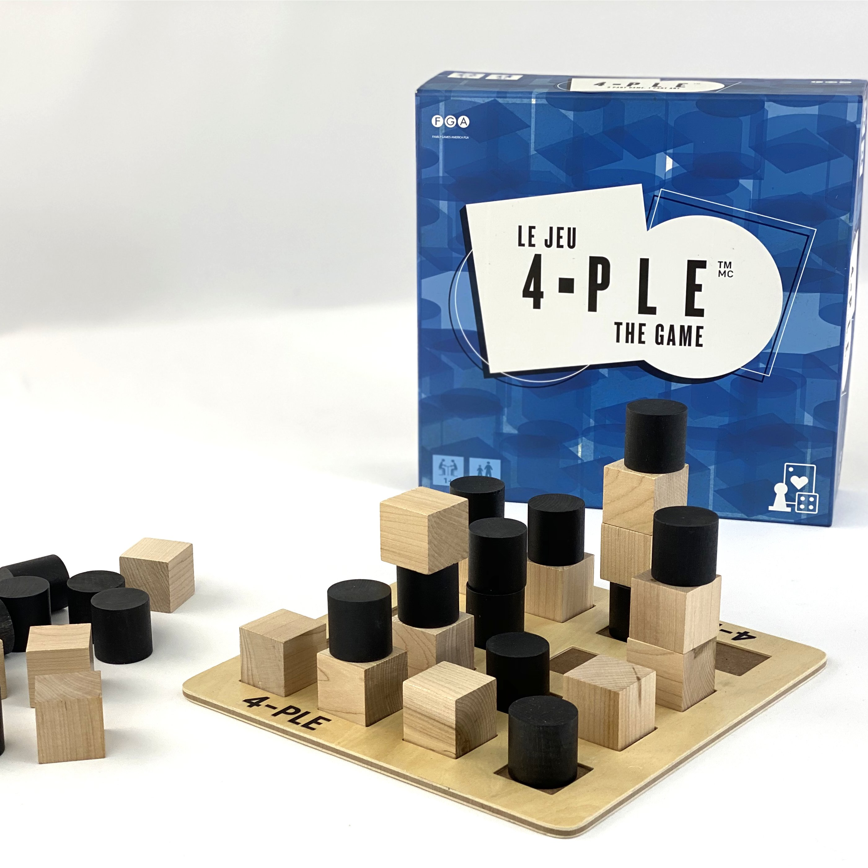 4-ple The Game (AKA Fourple)  - From the creators of KEVA