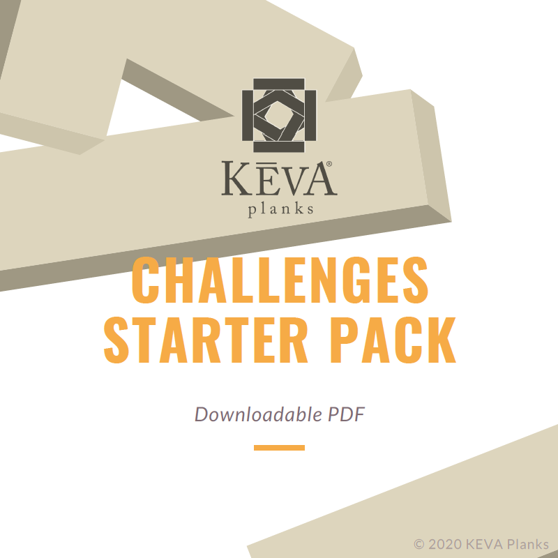 KEVA Challenges Starter Pack Downloadable PDF