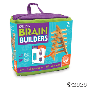 KEVA Brain Builders (Price: $16.95)