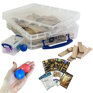 200 Educator Pack with Clear Storage Bin (Price: $109.99)