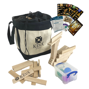 200 KEVA Educator Pack with Canvas Tote (Price $99.99)